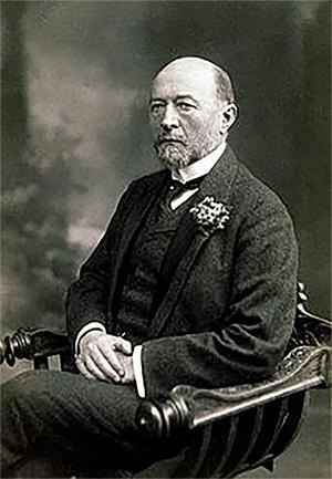 1901년 노벨생리·의학상을 수상한 독일의 세균학자 에밀 폰 베링( (Emil von Behring)). 117년의 역사를 갖고 있는 노벨생리·의학상 선전 과정에 논란이 일고 있다.    @Wikipedia