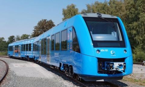 세계 최초로 수소로 운행하는 열차가 독일에서 선을 보였다 ⓒ Alstom
