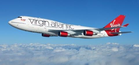 탄소를 재활용한 연료로 상업비행에 성공한 버진아틀랜틱 항공기 ⓒ Virgin Atlantic