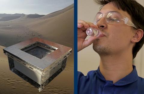 1kg의 MOF로 0.25L 정도의 물을 포집할 수 있다 ⓒ Berkeley.edu