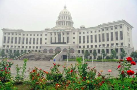 창핑취 캠퍼스가 들어설 베이징 북서쪽 외곽 지역에 조성된 강의동 일부. ⓒ 임지연 / ScienceTimes
