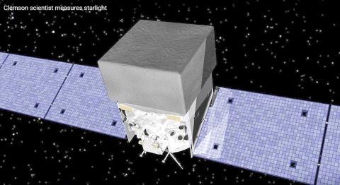 강력한 우주천문대 역할을 하는 페르미 감마선 우주망원경. Credit: Clemson University's College of Science