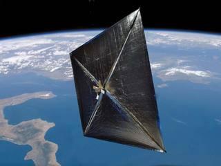 솔라 세일 모형 ⓒ 미국항공우주국 NASA 홈페이지 갈무리