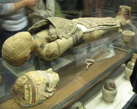 고대이집트의 미라 ⓒ Free photo