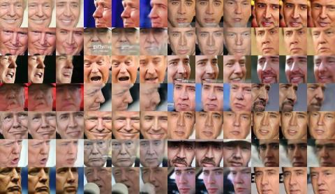 인공지능의 비지도학습 기능을 통해 가짜 동영상 제작이 손쉬워지면서 법조계 등에서 진실을 기반으로 한 사회구조가 붕괴될 수 있다는 우려를 표명하고 있다.   ⓒFakeApp