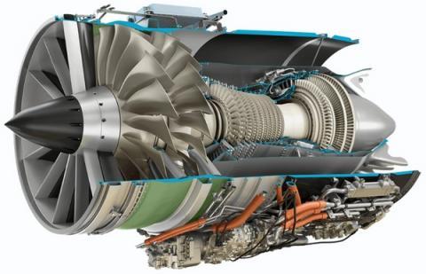 초음속 여객기에 탑재될 엔진인 어피너티의 조감도 ⓒ GE Aviation