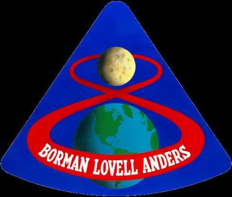 아폴로 8호 배지 ⓒ 위키백과 자료