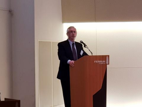 프레드 필립스 교수는 아시아의 연대와 협력을 위한 신뢰구축을 강조했다. ⓒ 김순강 / ScienceTimes