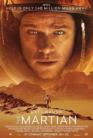 화성에 홀로 조난당한 탐사대원의 고군분투를 그린 영화 마션 ⓒ 20세기폭스코리아(주)