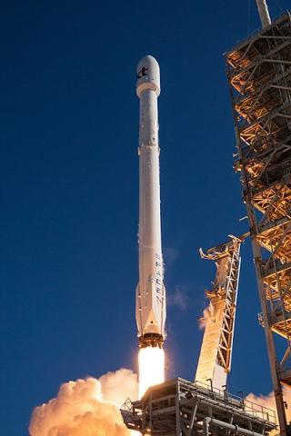 2017년10월에 발사 성공한 통신위성 무궁화5A호 ⓒ SpaceX