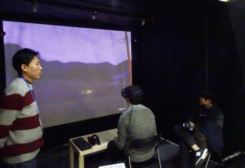 VR 낚시는 현실과 같이 고독한 느낌이 든다. ⓒ 김은영/ ScienceTimes