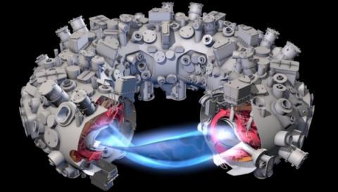 핵융합 시스템은 도너츠 모양의 진공용기와 자기장으로 이루어져 있다