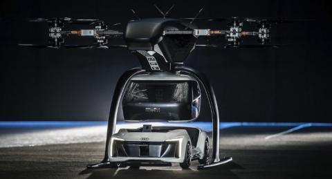 드론과 자동차가 만나 합체하는 신개념 수송기기가 탄생했다