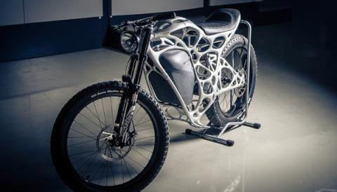 세계 최초의 e-Bike인 라이트라이더의 외관