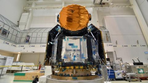 소행성 및 외계행성 전문 관측 위성인 CHEOPS의 외관