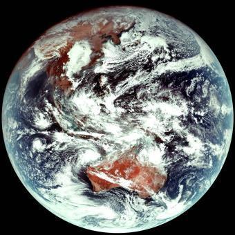 (이미지) 천리안 위성 2A호 천연색 컬러영상