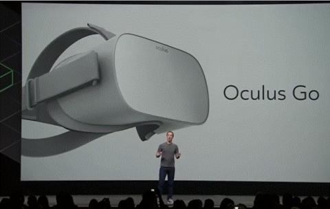 페이스북은 지난해 무선 스탠드얼론 VR HMD '오큘러스 고'를 출시했다.