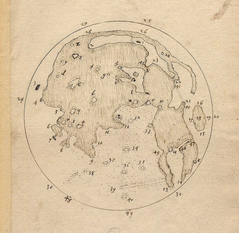 해리엇의 달 지도 ⓒ 위키백과 자료