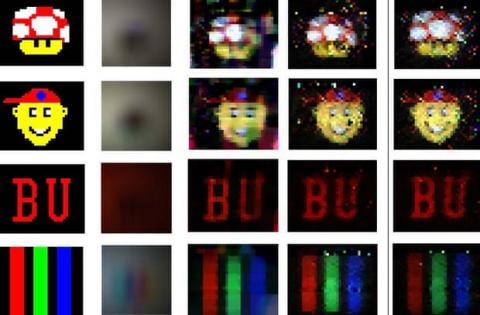 디지털 카메라에 잠망경과 컴퓨터 분석 기능을 추가해 새로운 카메라가 탄생했다. 눈으로 볼 수 없는  ⓒCharles Saunders/John Murray-Bruce/Vivek Goyal
