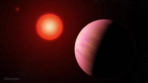 지구에서 226광년 떨어진 곳에서 찾은 외계행성 'K2-288Bb' 상상도