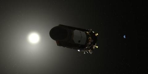 지난해 10월 지구와 영원히 작별한 우주망원경 케플러 ⓒ NASA 제공
