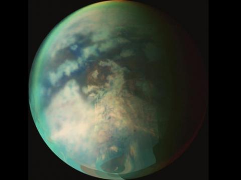 토성의 최대 위성 '타이탄'