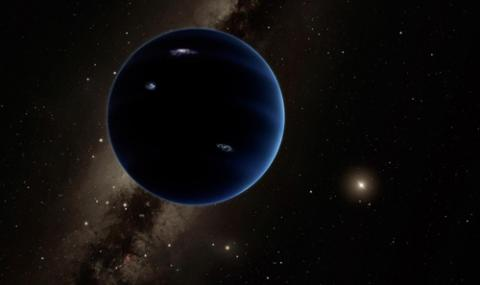 제9 행성 상상도  ⓒ Caltech/R.허트