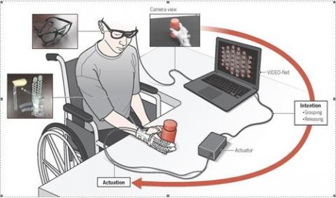 머신러닝 기반 의도예측 기술을 적용한 착용형 손로봇  ⓒ인간중심 소프트 로봇기술 연구센터(SRRC)·서울대·KAIST