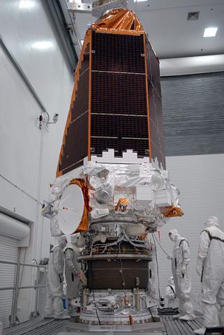 수많은 외계행성을 찾아낸 케플러 우주망원경의 발사 전 모습 ⓒ Wikipedia