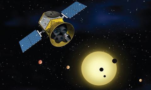 2018년 4월에 발사된 TESS 우주망원경의 상상도 ⓒ NASA