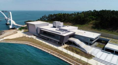 최근 부분 개관한  국립태안해양유물전시관 전경 ⓒ 국립해양문화재연구소