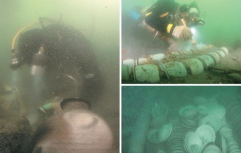 수중고고학은 수중유물의 조사 및 연구에 지대한 영향을 미치고 있다 ⓒ 국립해양문화재연구소