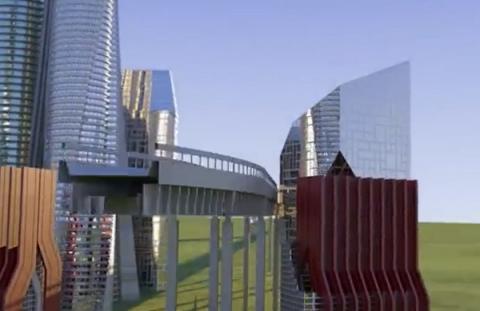 메타버스와 블록체인의 융합으로 새로운 가상현실 서비스를 제공하는 디센트럴랜드 ⓒ Decentraland
