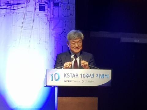 격려사를 전하고 있는 이경수 ITER 사무차장 ⓒ 김순강 / ScienceTimes