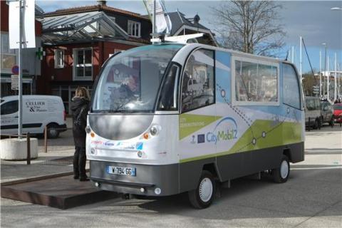 자율주행버스 '시티모빌2'  ⓒ위키미디어