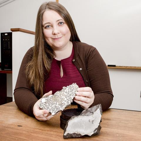 연구를 주도한 미국 프린스턴대 지구과학과 제시카 어빙 조교수.  CREDIT: Denise Applewhite, Princeton University
