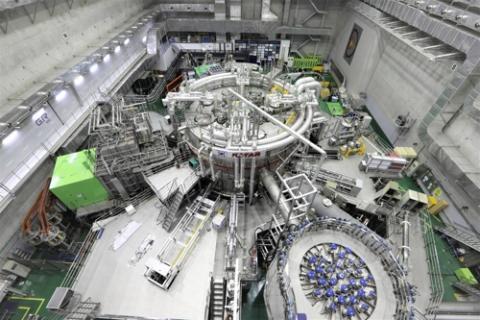 한국 인공태양 'KSTAR' 모습