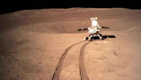 중국의 창어 4호가 달에 성공적으로 착륙하면서 베일에 싸여 있던 달의 뒷면이 공개되었다 ⓒ 연합뉴스