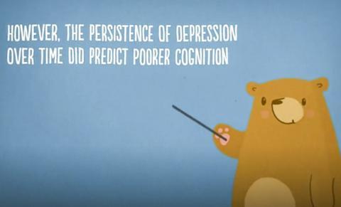 지속적인 우울증상은 기억력 손상을 일으키나, 말하기와 정보처리 기능에는 영향을 미치지 않는 것으로 나타났다.  ⓒ Pixabay