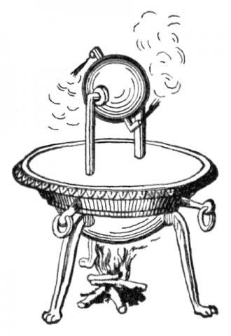 헤론의 기력구 ⓒ public domain