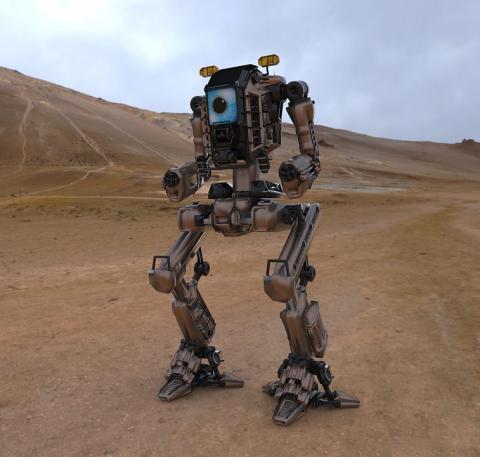 우주탐사나 재난구호에 인공지능 로봇이 응용될 것이다. ⓒPixabay
