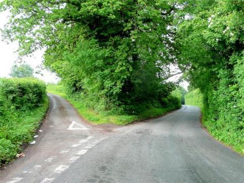 포크는 '갈래 길'이라는 의미를 가지고 있다 ⓒ Geograph