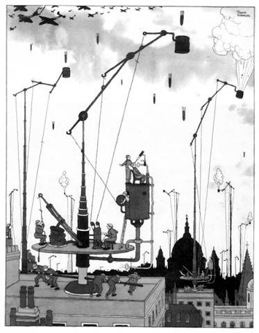 The Multi-movement Bomb Catcher ⓒ William Heath Robinson