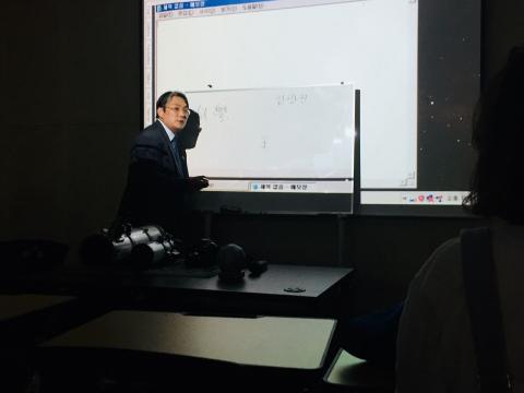 '조경철 천문대 x 갈다' 천체 관측 프로그램은 천문학자들의 전문강연이 더해진다. ⓒ 갈다
