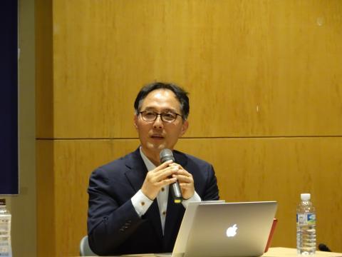 이정규 브릿지바이오테라퓨틱스(주) 대표는 오픈 이노베이션을 강조했다. ⓒ 김은영/ ScienceTimes