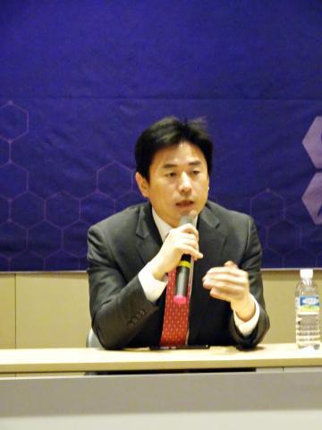 이상헌 고려대안암병원 교수가 정밀의료 병원정보시스템에 대해 설명하고 있다. ⓒ 김은영/ ScienceTimes