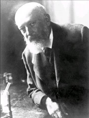 남색인 합성 인디고를 개발해 1905년 노벨 화학상을 수상한 아돌프 폰 바이어. ⓒ public domain