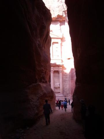 고대 도시 페트라에 있는 유명 건축물 알카즈네. ⓒ 송희용