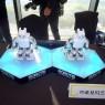 지난해 11월 서울시 용산구 드래곤시티 호텔에서 열렸던 '2018 과학창의연례 컨퍼런스'에서 춤을 추며 숨은 끼를 발휘한 로보티즈 미니.