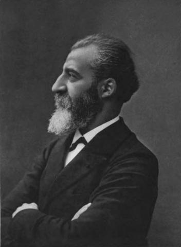 불소인 플루오린을 최초로 분리하고 전기로를 개발한 공로로 1906년 노벨 화학상을 수상한 앙리 무아상. ⓒ Public Domain